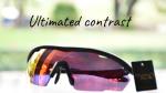 แว่นกันแดดกีฬา high contrast lens